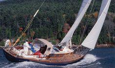 Sailing ... in a Hinckley Sailboat