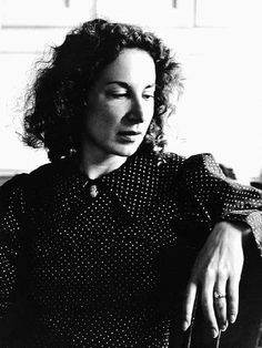 young Margaret Atwood
