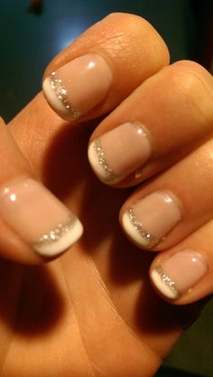 Gel nail design French