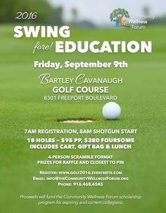 2016 Swing fore! Education