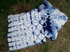 Mosaicos Azuis....paineis shibori