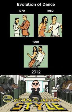 Gangnam style, the future of dance