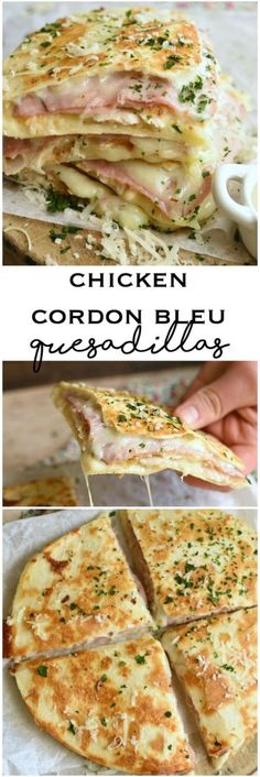 Chicken Cordon Bleu Quesadillas Chicken Cordon Bleu Quesadillas are a fuss free way to enjoy the classic in every single layer! Chicken Cordon Bleu Quesadillas Chicken Cordon Bleu Quesadillas are a fuss free way to enjoy the classic in every single layer! New Recipes, Cooking Recipes, Healthy Recipes, Popular Recipes, Favorite Recipes, Recipies, Cheap Recipes, Drink Recipes, Food Recipes Summer
