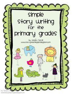 sandra's savvy teaching tips: Simple Story Writing - a sneak peek!!