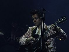 Harry on stage in London.