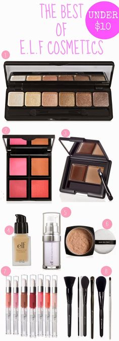The Best of E.L.F. Cosmetics! Products that should be in everyone's makeup drawer that don't break the bank!