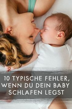 Baby schlafen legen: 10 Fehler, die viele Eltern machen 10 typical mistakes that parents make when they put their baby to sleep. Baby Boy Rooms, Baby Room, Parental, Baby Zimmer, Foto Baby, Baby Care Tips, Baby List, After Baby, Parenting Teens