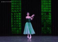 """goodgolly-missmolly88: """" Ana Turazashvili in Emeralds. """""""