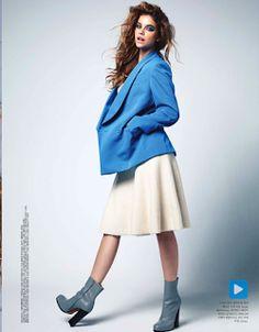 magazine-photoshoot : Barbara Palvin Magazine Photoshoot For Elle Korea Magazine October 2013