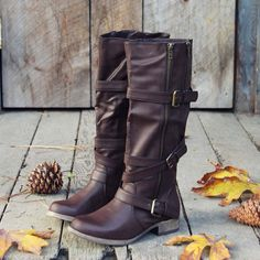 Maple Valley Boots, Rugged Riding Boots from Spool No.72. | Spool No.72