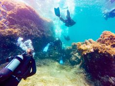 Scuba in Rhodes http://www.deepbluediving.org/how-to-reduce-air-consumption-during-diving/