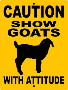 2eb072140 SHOW GOAT Sign 9