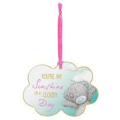 You Are My Sunshine Me to You Bear Plaque  £2.49
