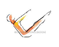 Yoga, Pilates and Nature Art for Inspiration by LindsaySatchell Pilates Workout, Logo Pilates, Pilates Reformer, Exercise, Pilates Studio, Control, Teaser, Art Blanc, Studio Decor
