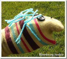 another cute sock puppet