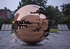 Trinity College - Golden Globe by Alex Art Sale Poster, Dublin Ireland, Golden Globes, Fine Art Prints, College, Wall Art, Photography, Painting, Beautiful