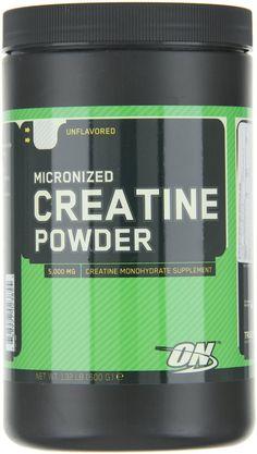 Video Optimum Nutrition Creatine Powder, Unflavored, 600g - Bodybuilding...