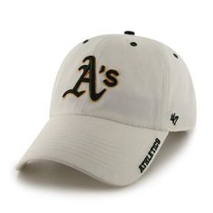 sneakers for cheap 96af8 d5ed8 Oakland Athletics Ice White 47 Brand Adjustable Hat