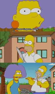 Homer Simpson, do me.