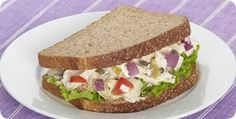 Tuna salad sandwiches, Salad sandwich and Tuna salad on Pinterest
