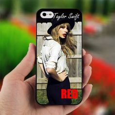 Taylor Swift Red - Design for iPhone 5 Black Case | printcustom - Accessories on ArtFire