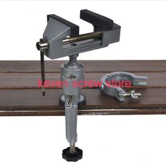 2 In 1 Multifunction Table Vise Bench Vice Aluminium alloy 360 Degree Rotating Universal Clamp Units Vise Mini Precise Vise Jewellers Bench, Bench Vise, Power Tool Accessories, Work Tools, Table Desk, Wooden Tables, Aluminium Alloy, Clamp, Drill