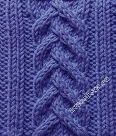 pattern 380 ... looks rather like a cable over a cable... Sweater Knitting Patterns, Lace Knitting, Knitting Stiches, Knitting Socks, Knit Or Crochet, Knitted Hats, Knit Stitches, Stitch Patterns, Crochet Patterns