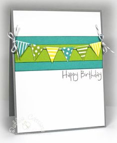 Birthday Card, simple banner