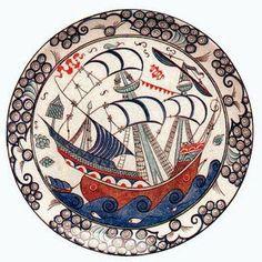 Görsel Sanatlar Deposu / Fine Arts Archive: Çini desen örnekleri
