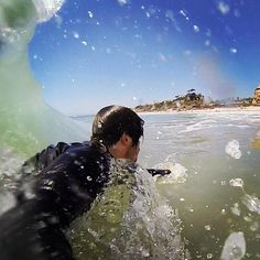 State Beach bodysurfing      San Clemente, CA