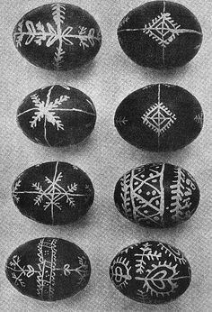 EASTER DESIGNS. Pysanky from Neresnytsya