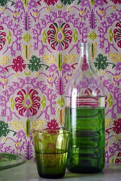 'Leila' (04789/02) fabric from Manuel Canovas at Colefax and Fowler