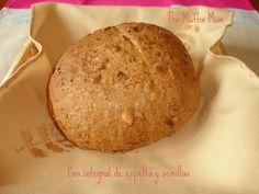 Pan de espelta con semillas   Cocina
