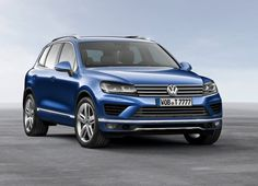 New Release Volkswagen Touareg 2015 Review Front Side View Model