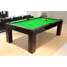 Paris Dining Pool (Light) Table by Thailand Pool Table
