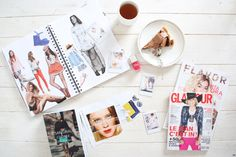 Create your own fashion inspiration book