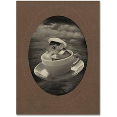 Trademark Fine Art 'Mice Series #4' Canvas Art by J Hovenstine Studios, Size: 35 x 47, Gray