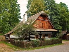 Cottage Style Homes, Log Homes, Cabin, Country, House Styles, Buildings, Group, Home Decor, Timber Homes
