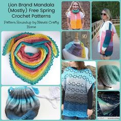 Mandala Spring Crochet Pattern Roundup
