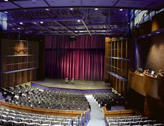 Chosky Theatre, Purnell Center for the Arts, Carnegie Mellon University Teaching Theatre, Carnegie Mellon, Top Colleges, Theatre Design, Concert Hall, Orchestra, Opera House, University, 10 Top