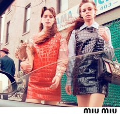 What lessons can we learn from the public transport riding, hard staring, pleasure taking girl gang of @miumiu A/W15? Find out on anothermag.com