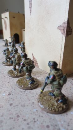 Photo in 28mm French Modern Infantry -  - Eureka Miniatures