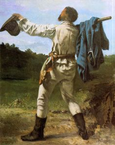 The Homecoming - Gustave Courbet
