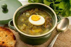 Zupa szczawiowa według przepisu Magdy Gessler