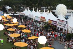 Patrons are spoilt for choice with a wide variety of F_B options available at the Padang