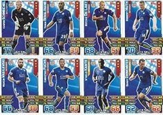 Match Attax 2015/2016 Leicester City Team Base Set Plus Star Player, Captain & Away Kit Cards 15/16 #leicester