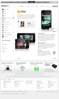 Apple - iPhone - Features - iPod (07.01.2009)