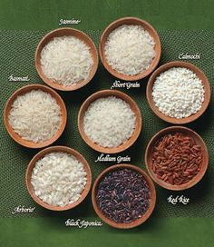 Identifying different types of rice