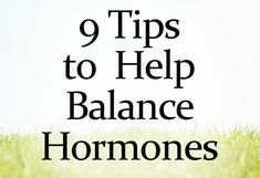 """If you have symptoms like fatigue, skin issues, weight gain, weight around the middle, trouble sleeping, always sleeping, PMS, endometriosis, infertility, PCOS or other issues, chances are you have hormone imbalance!"" This is good info - Click image to find more Hair & Beauty Pinterest pins"
