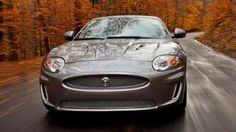 The 2012 Jaguar XKR convertible with 510-hp, 5.0-liter V-8 engine.